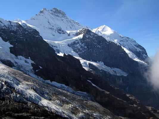 Jungfrau und Silberhorn