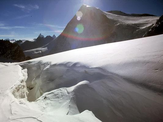 Am Col du Brenay - 3639 M