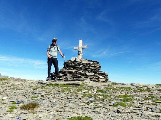 Am Gipfel des Glatten - 2502 M