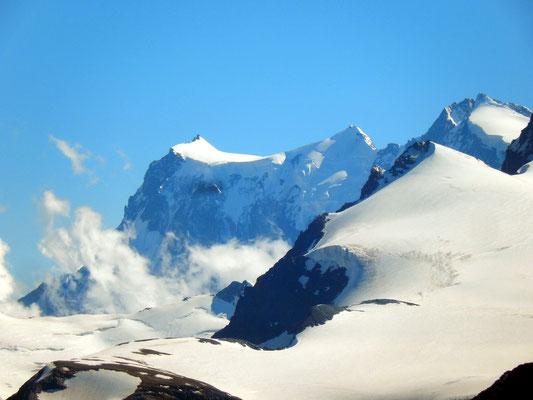 Gipfelblick - Monte Rosa