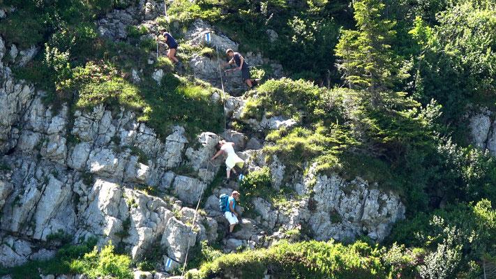 Einstieg - Felsstufe