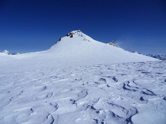 Zumsteinspitze im Aufstieg
