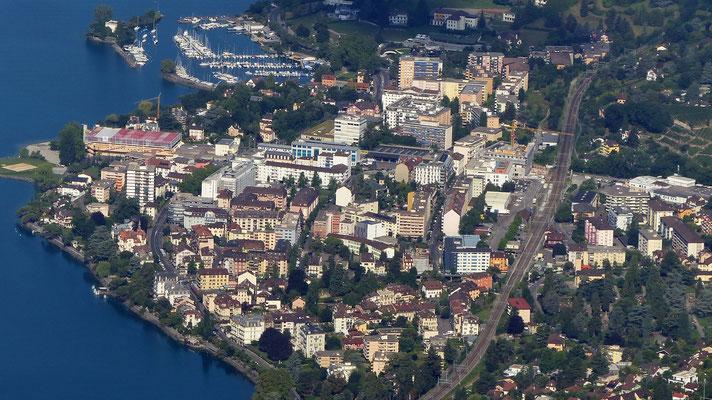 Gipfelblick: Montreux