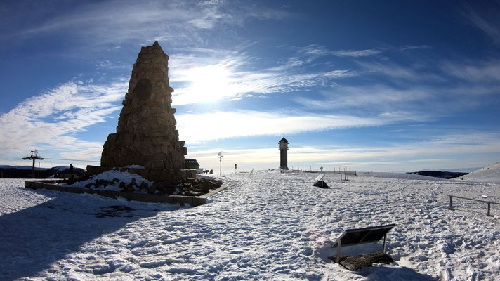 Am Seebuck-Gipfelplateau