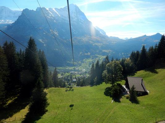Abfahrt nach Grindelwald