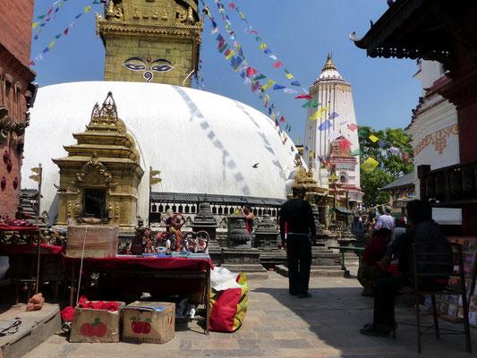 Swayambhunath-Heiligtum