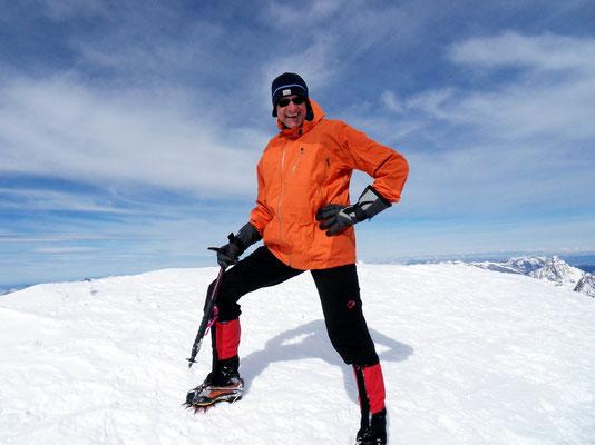 Persönliches Gipfelbild - 4015 M