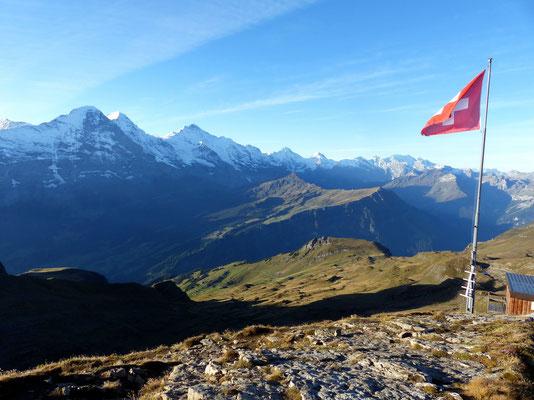 Am Gipfel des Faulhorn - 2681 M