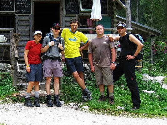 Bei der Blockhütte - 1052 M