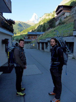 Sonnenaufgang - Zermatt