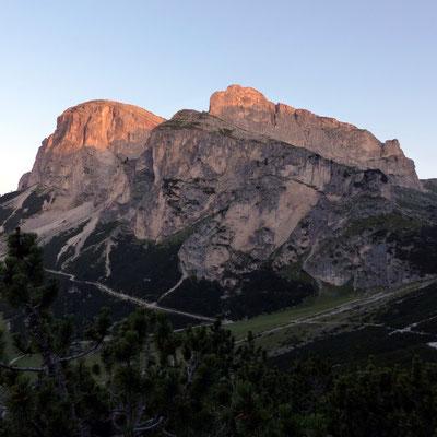 Pizes da Cir im Morgenlicht
