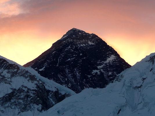 Chomolungma im Morgenlicht - 8848 M