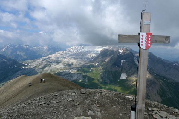 Gipfelblick nach West - Les Diablerets