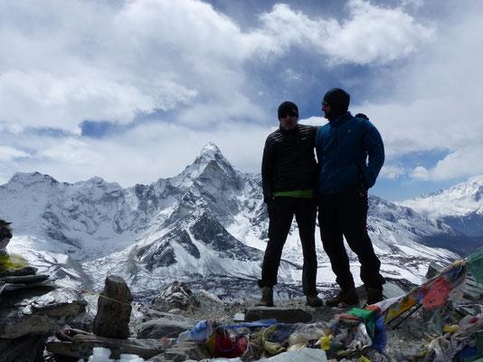 Am Gipfel - Vor Ama Dablam