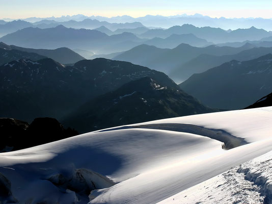 Oberengadiner Bergpanorama