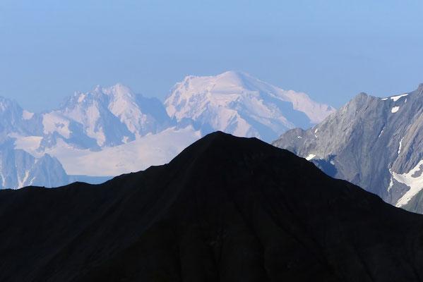 Fernblick zum Mont Blanc, 4811 M