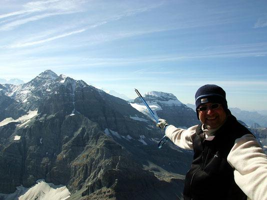 Tour Sallière vor Mont Blanc