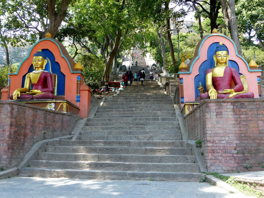 365-Stufen-Treppe