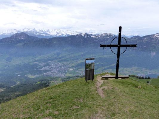 Am Gipfel des Gnipen - 1567 M
