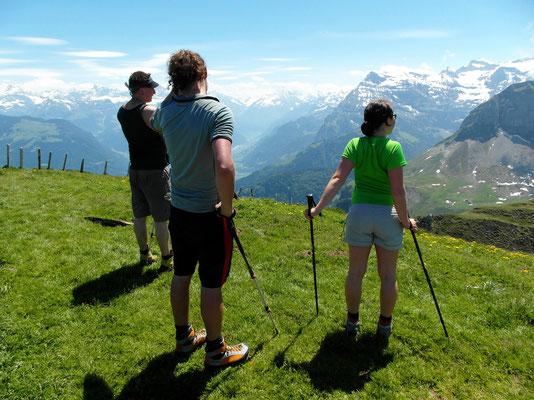 Gipfelblick - NBK nach Süd
