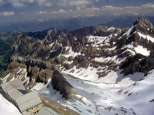 Abstieg - Gross-Schnee-Firn