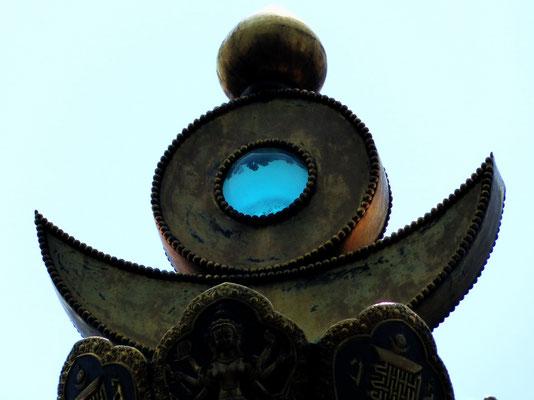 Das Auge der Stupa