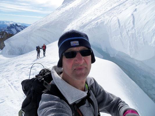 Gletschergraben vor Steilstufe