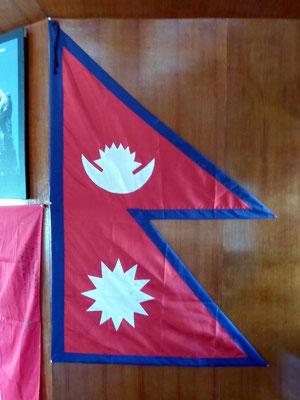 Nepalesische Flagge
