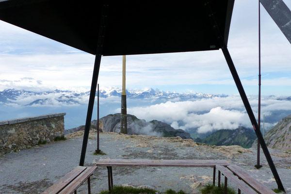 Esel-Gipfelblick nach Süd