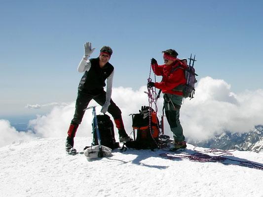 Persönliches Gipfelbild - 4017 M