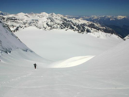 Abstieg zum Glacier du Giétro