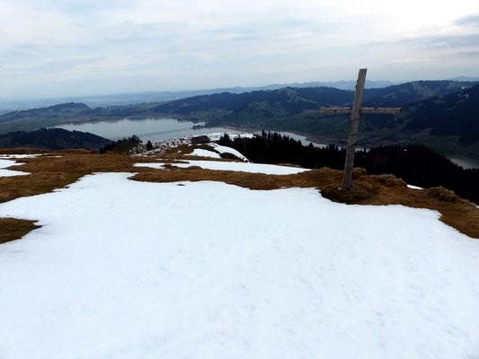 Gipfel des Hummel - 1422 M