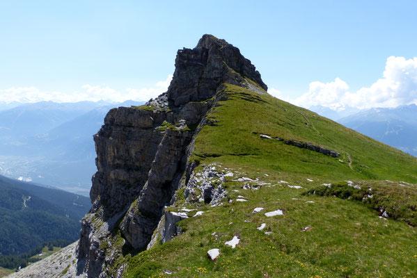 Petit Mont Bonvin, 2412 M