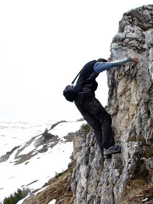 Abstieg - Westrampe