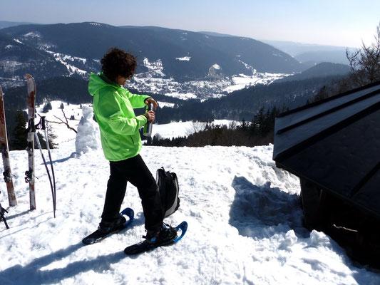 Gipfelblick ins Menzenschwandertal
