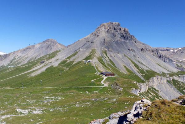 Gipfelblick: Mont Bonvin, 2966 M
