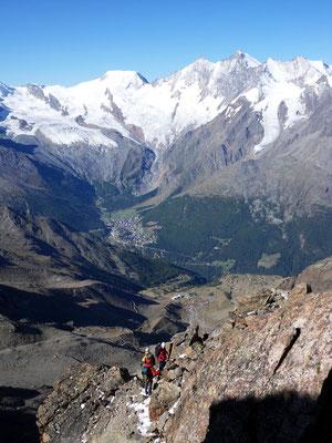 Abstieg - Westgrat