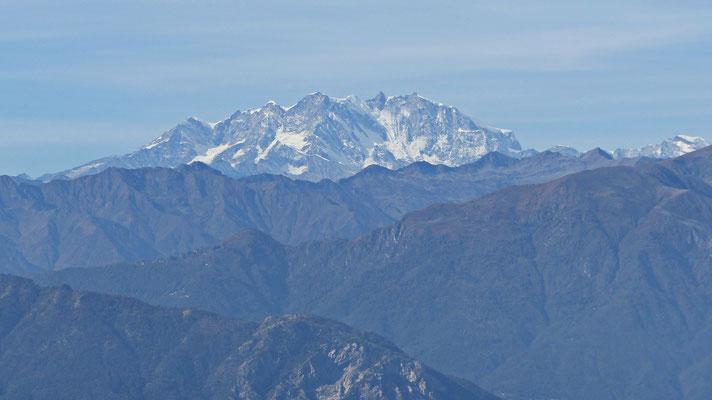 Gipfelblick: Monte Rosa, Königin der Alpen