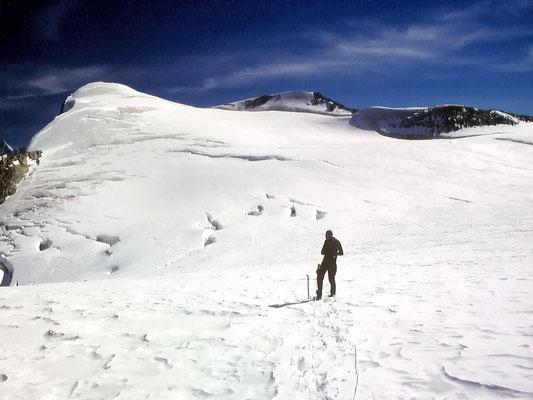 Auf dem Gipfelplateau