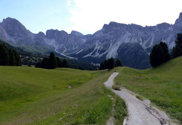 Auf dem Weg zur Regensburger-Hütte - 2037 M