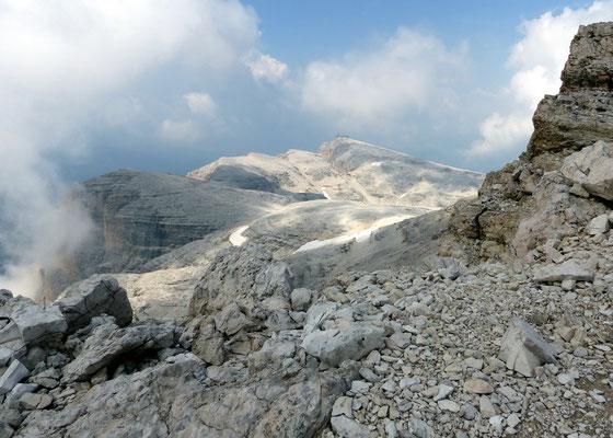 Bergstation Sas Pordoi - 2950 M