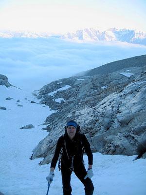 Im Aufstieg - Ca. 3200 M
