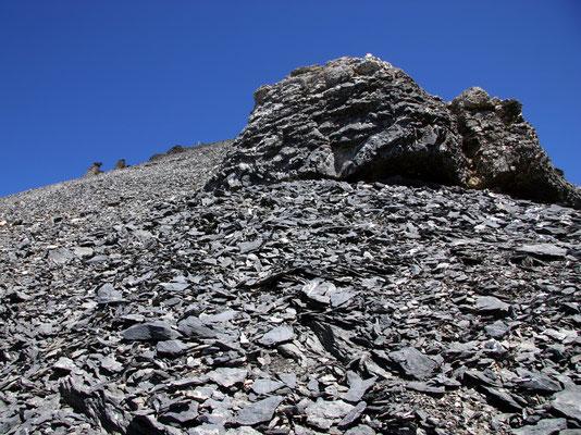 Südflanke - Ca. 3000 M