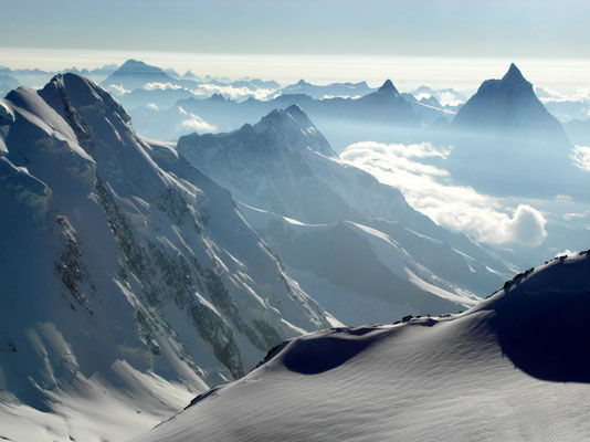 Signalkuppe - Gipfelblick nach W