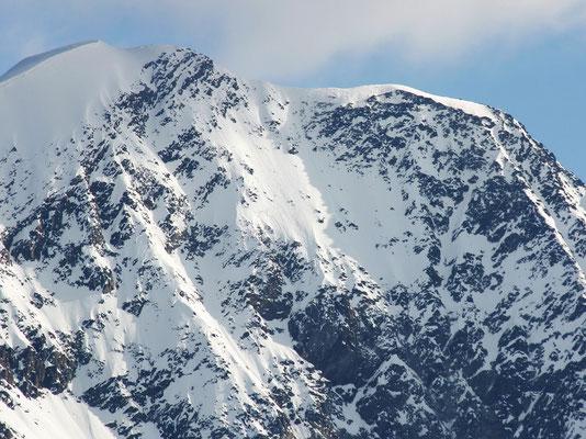 Weissmies-Gipfelprofil
