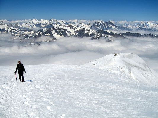 Abstieg - Höhe ca. 3650 M