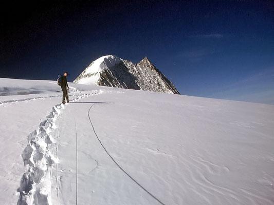 Erste Plateauhöhe - ca. 3400 M