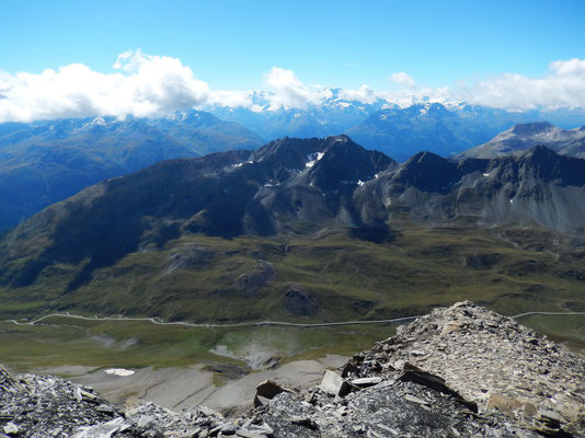 Gipfelblick nach Süd