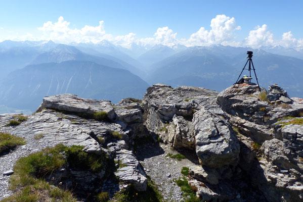 Gipfelblick: Val d'Anniviers
