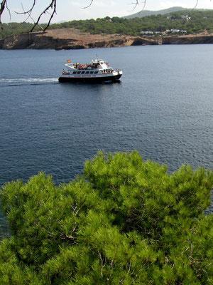 Motiv 9 - Touristenboote vor Cala Bassa